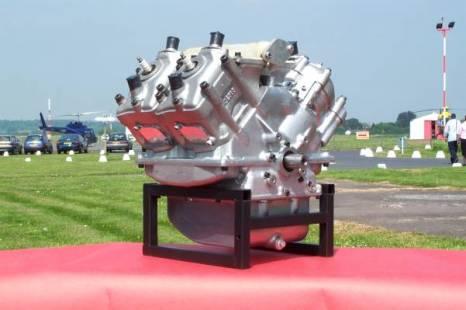 STEPPED PISTON ENGINE OPERATING PRINCIPLE